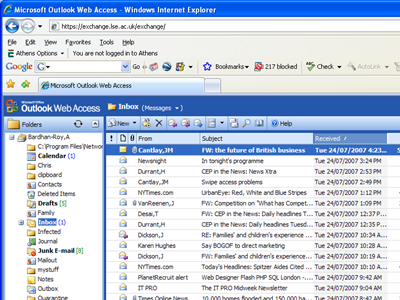 RLAB IT | Help Documents | Outlook - Web Access
