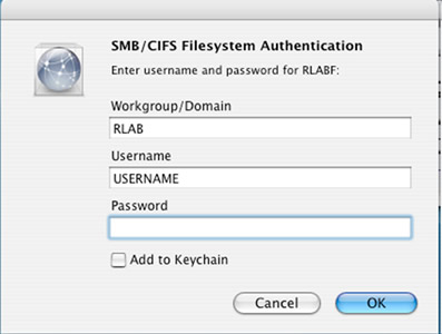[Mac: Authentication dialog]