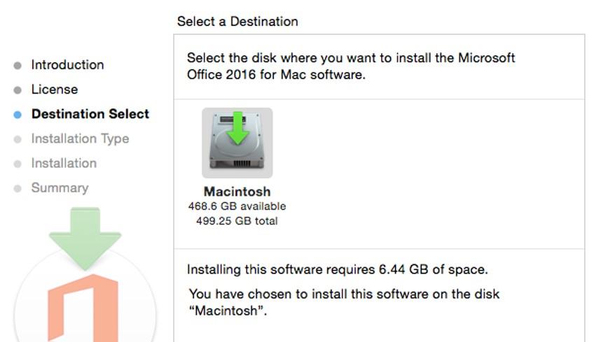 [Image of disk installation window.  ]