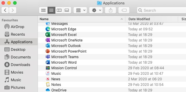 [Image of Office 365 Apps ready to use.  ]