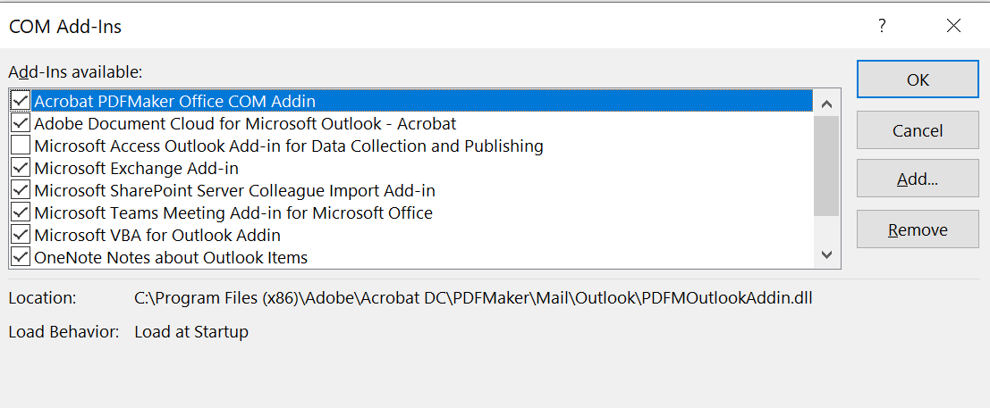 [Picture of OUTLOOK PLUGINS]
