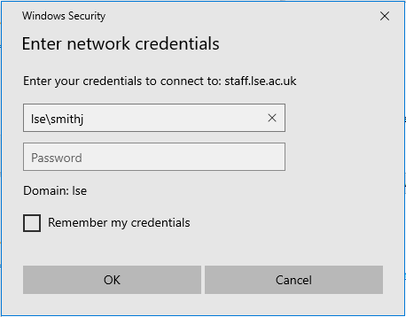 [Picture of enter credentials]