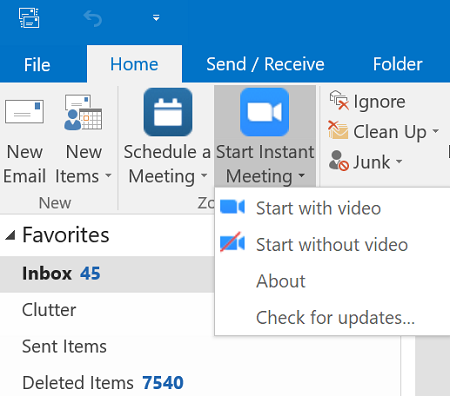 [Picture of OUTLOOK TOOLBAR]