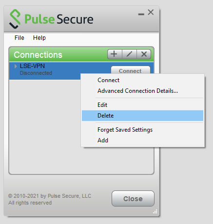 [Picture of Pulse on menu bar]